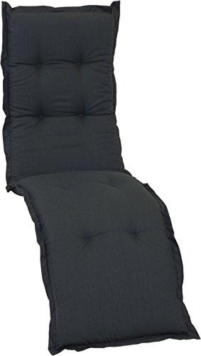 beo AU91 New York re Coussin avec Bordure pour Housse de qualité de Luxe avec Haute lumière, Confortable Confort Relax, Env. 174 x 52 cm Épaisseur Env. 7 cm