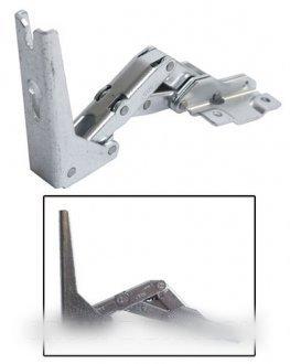Ariston-Scharnier rechts oben oder unten links Einheit für Kühlschrank Ariston-bvmpièces -