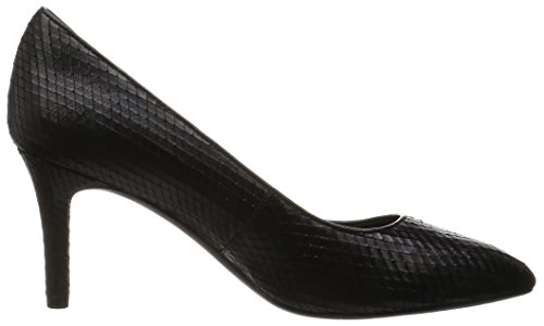 Rockport Total Motion 75mm Pointy Toe Pump, Escarpins femme Noir - Schwarz (BLACK DIAMOND SNK)