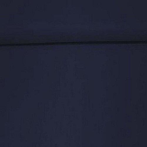 Erstklassiger Baumwollstoff, Uni, Kleider-, Dekostoff, 100{f93e164651d91f96a5977ec0b3a34ee8733f0e5f0366094b728ed45f2b3621ae} Baumwolle, Meterware, 1fm, Breite 160cm – dunkelblau