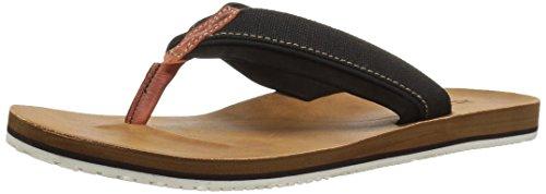 Aldo-flip-flops (Aldo Men's Galoisa Flip Flop, Black Leather, 7.5 D US)