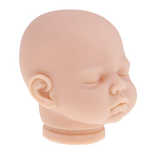 P Prettyia Set de Modelismo de Cabeza de Muñeca Bebé Neborn - #2
