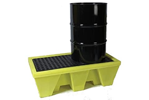 2-drum poly spill pallet 31-1257