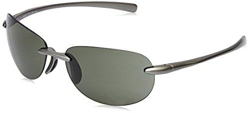 Fastrack UV Protected Sport Men\'s Sunglasses - (R054GR3|62|Green Color)