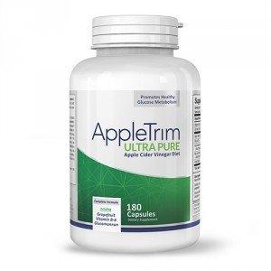 Appletrim 180 Capsule - Integratore Dietetico a Base di Aceto di Mele - Facilita il Processo di Dimagrimento e Accelera il Metabolismo