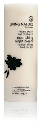 Living Nature: Nourishing Night Cream - Nährende Nachtcreme (50 ml)
