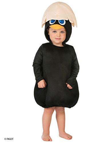 Generique Kostüm Calimero für Babys (56/68 (0-6 ()