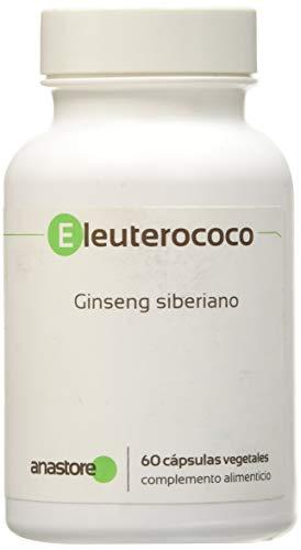 Anastore Eleuterococo 500 mg - 60 Cápsulas