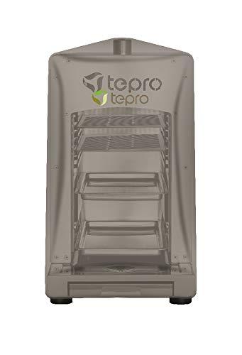 Tepro Universal Abdeckhaube für Steakgrill, anthrazit 39