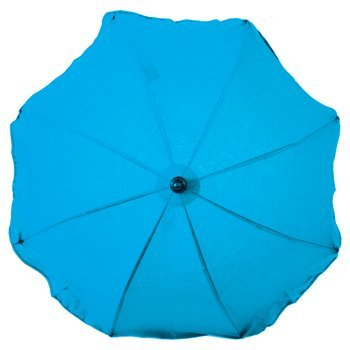 iSi Mini, Umbrella for Pram/Pushchair Parasol with UV Protection UPF50, Turquoise (t?rkis) by ISI M
