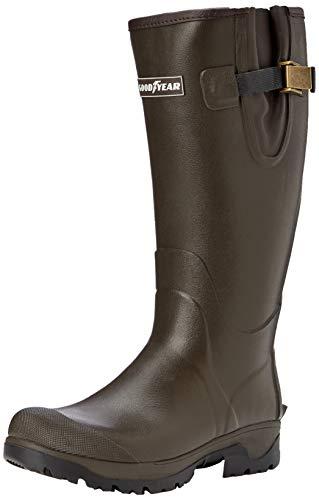 Grisport Goodyear Excursion Wellington, Stivali di Gomma da Lavoro Unisex-Adulto, Marrone (Brown 0), 46 EU