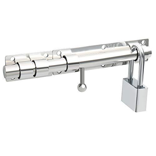 Sayayo EMS9200 - Cerrojo de seguridad para puerta corredera con candad