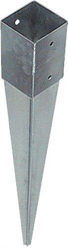Preisvergleich Produktbild Uniqat Einschlagbodenhülse,  1 Stück,  silber,  UQ725770