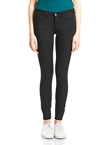 Street One Damen Slim Jeans 371237 York, Schwarz (Clean Black Wash 11326), W34/L30