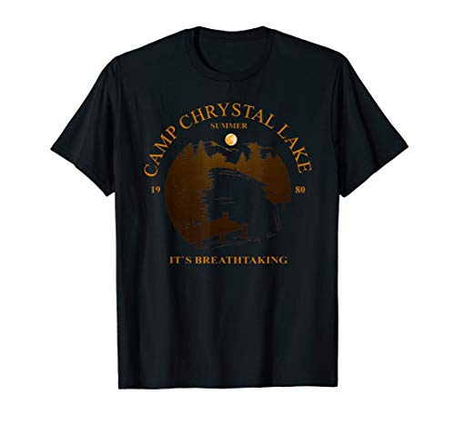 Camp Chrystal Lake shirt - Its Breathtaking - Halloween T-Shirt