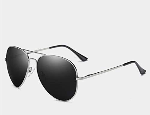 Sonnenbrillen Gläser 150 Mm Oversized Mens Polarisierte Sonnenbrille Schwarz Aviation Sonnenbrillen Für Mann, Der Polarisierende Sonnenbrille Uv400 Pilot Silbernen Rahmen