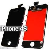 TOUCH SCREEN + LCD DISPLAY RETINA+FRAME PER APPLE IPHONE 4S NERO VETRO SCHERMO