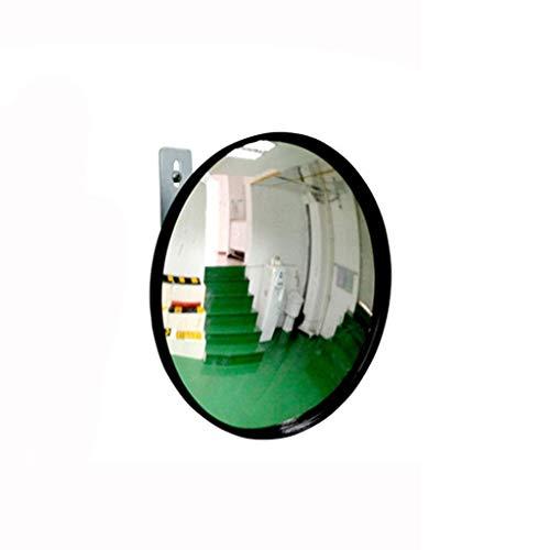 WYJW Acrylspiegel Konvexer Sicherheitsspiegel Leichter runder PP-Rahmen Weitwinkel-Sichtfeld Eckspiegel Blinder Fleck Spiegel (Größe: 22 cm) (Blinde Fleck, Der Lange Spiegel)