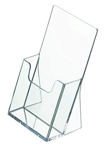 Prospektständer DIN lang Hochformat/Prospekthalter Flyer Ständer Werbung Aufsteller -