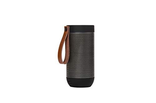 Kreafunk Lautsprecher aFUNK schwarz mit Holzbox