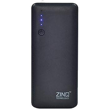 Zinq Technologies Z10KI 10000mAH Lithium Ion Power Bank (Black)