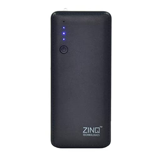 zinq z10ki 10000mah lithium ion power bank (black) - 31 2BckwNav4L - Zinq Z10KI 10000mAH Lithium Ion Power Bank (Black)