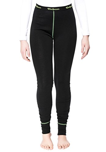Woolpower Long John Women's Lite noir 2017 Sous-vêtement