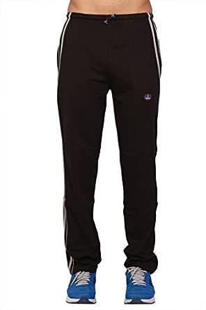 VIMAL JONNEY Men's Cotton Trackpant (D5BLACKM01)-D5BLACKM01