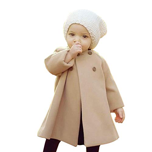 Coupon Matrix - JUSTSELL ♪❤ Clearance Sales,Toddler aby Girls Hooded Coat Kids Woolen Overcoat Winter Double-Breasted Warm Jacket