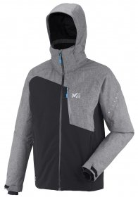 Millet Cypress Mountain Jacket Men / noir/heather grey XXL