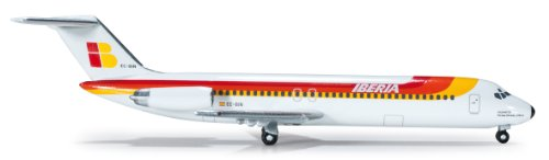 daron-herpa-iberia-dc-9-30-diecast-aircraft-1500-scale