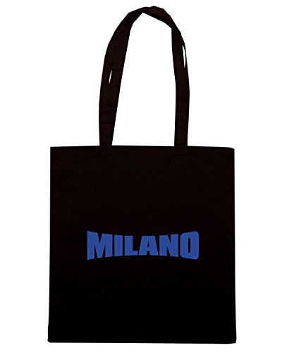 T-Shirtshock - Borsa Shopping T0076 MILANO INTER calcio ultras Nero