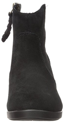 CROCS - Damenstiefel Leigh Suede Wedge Bootie - black Black