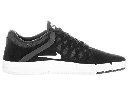 Nike Free Sb, Scarpe da Skateboard Uomo, Nero, Talla Nero / Bianco (Black/White-Black)