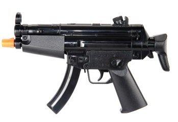HFC Softair Pistole HB102 Mini Voll Automatisch Elektrisch schwarz ABS unter 0.5 Joule 0.12g Hop Up ab 14 Jahre Softair-Gewehr Kinder-Gewehr Air-Soft (Automatische Volle Paintball-pistolen)