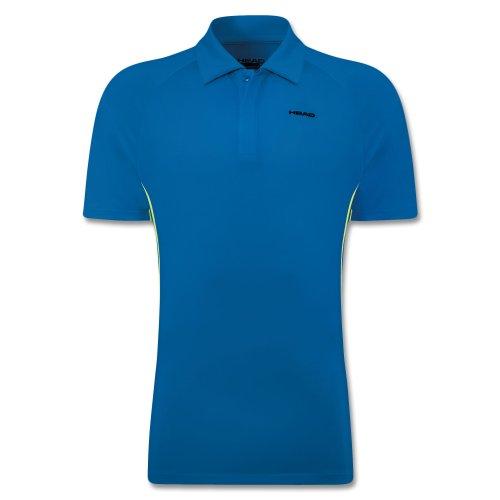 Head Push Poloshirt Button Men FS14 Blau