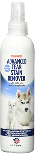 Sonnyridge Augen Fleckenentferner Entfernt Reiß- und Augenflecken schnell und natürlich für Hunde, Katzen oder Ihr Haustier. Entfernt sicher Augenflecken, Tränenflecken , Schleim und Verhindert Zukunft Tränenflecken bilden kann.