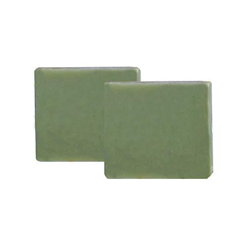 Mijo 2x ALOE VERA Seife, handgemachte rückfettende Naturseife mit Bio Olivenöl, ohne Palmöl, vegan ca. 100g/St