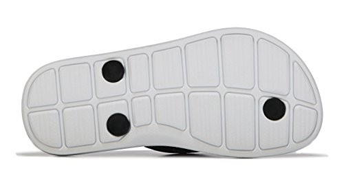 Nike Solarsoft Thong 2 Prnt (Gs/Ps), Tongs Fille, Noir, [TOP] Noir / Blanc / Rose (Black / White-Deep Night-Fr Pink)