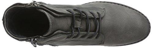 Jane Klain262 225 - Stivali Combat, gamba corta, imbottitura calda donna Grigio (Grau (Dk.Grey 258))