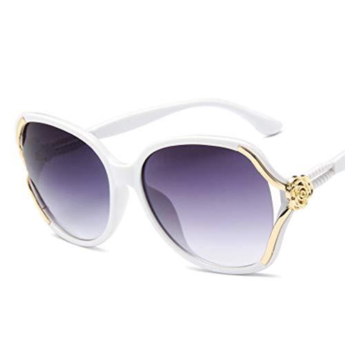 JMT-0825 Frauen Polarisierte Sonnenbrille-Art- Und Weisebrillen-Weibliches Sonnenbrille-Farbton-Schutzbrillenweiß