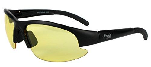 Rapid Eyewear 'Nimbus Night' NACHTBRILLE ZUM AUTOFAHREN, Motorrad und Winter Sonnenbrille. Autobrille für Damen und Herren. Blendschutz. Nacht Brillen Blendfrei HD
