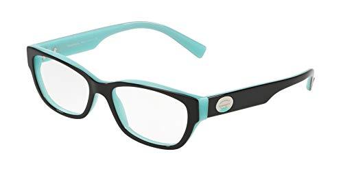 Tiffany & Co. Brillen Tiffany Tf 2172 8055 W/Clear Demo-Objektiv 52mm Schwarz Blau
