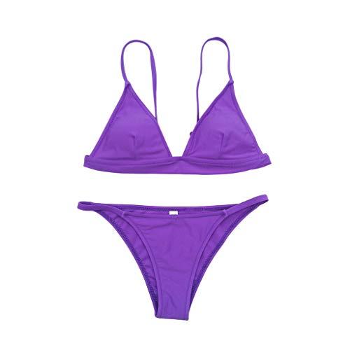 ADESHOP Übergröße Badeanzüge für Damen, Badeanzug, Bikini-Set, Dicke Bademode, Bademode, BH, Tankini, Strand