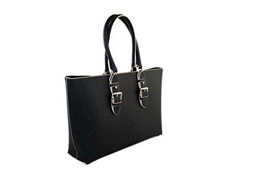 Armani Jeans 922210, Borsa tote donna nero nero B 43 x H 28 x T 11 nero