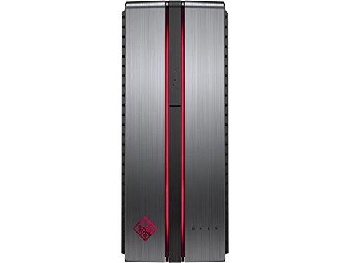 HP OMEN 870-118NS-Desktop-PC (Intel Core i5-6400, 8GB di RAM, HDD da 1TB e 128GB SSD, NVIDIA GeForce GTX 950, FreeDOS 2,0, plomizo-Tastiera e Mouse ottico QWERTY spagnolo
