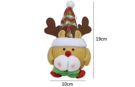 Gli ornamenti nuova piccola bambola di Natale ornamenti ornamento di Natale Regali creativi , (Piccolo Elk)