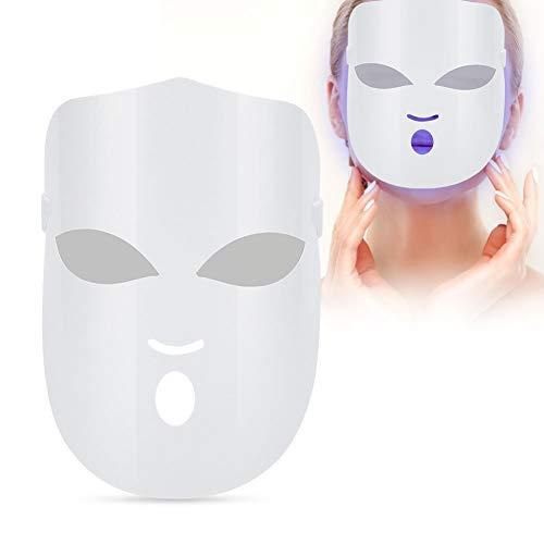 Maschera estetica leggera Attrezzatura di bellezza Maschera a LED Attrezzatura facciale Sbiancamento della pelle Contaminazione Pelle Indurimento lucido Cura per la casa Fotomontaggio Ricarica USB