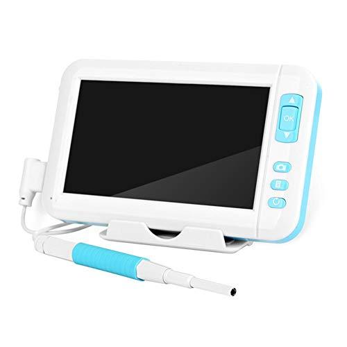 Euopat USB-Ohr-Otoskop-Inspektionskamera , Otoskop, Mikroskop Digitale USB-Kamera, Ohrendoskop, Ohrenschmalz-Entfernungswerkzeug Mit 6 einstellbaren LEDs (Usb-kamera-otoskop)