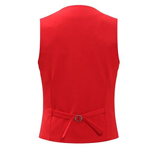 YOUTHUP Herren Anzug Rot